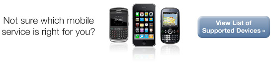 Not sure which mobile service is right for you? Find out here.